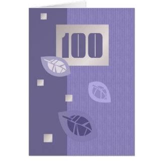 Happy 100th Birthday Customizable Greeting Cards