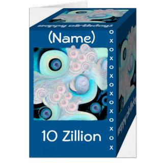Happy 10th Birthday - Zillions of Hugs & Kisses Card