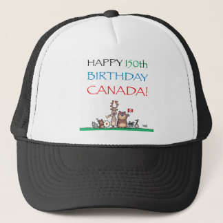Happy 150th Birthday Canada! Trucker Hat