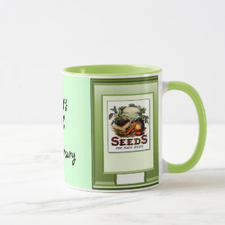 Happy 18th Anniversary, Grow vegetables Mug