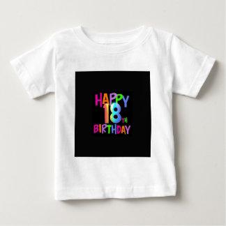 HAPPY 18TH BIRTHDAY MULTI COLOUR BABY T-Shirt