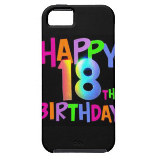 HAPPY 18TH BIRTHDAY MULTI COLOUR iPhone 5 COVER
