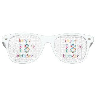 Happy 18th birthday party shades