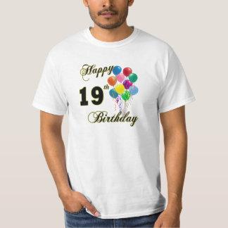 Happy 19th Birthday T-Shirts