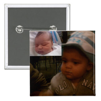 Happy 1st Birthday & Baptism... Pinback Buttons