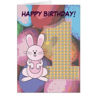 HAPPY 1ST BIRTHDAY :: CARD