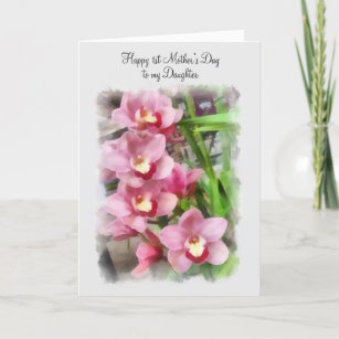 Happy Mothers Day To My Daughter Cards Greeting Cards More