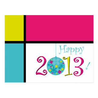Happy 2013 postcard