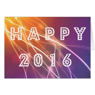 Happy 2016 card