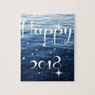 Happy 2018 jigsaw puzzle