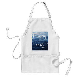 Happy 2018 standard apron
