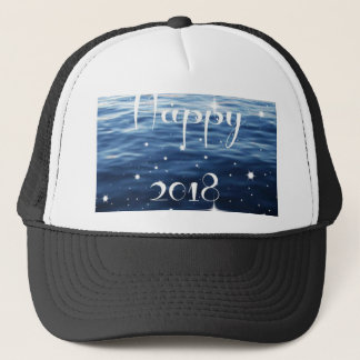 Happy 2018 trucker hat