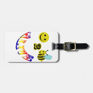 happy 2 bee alive travel bag tags