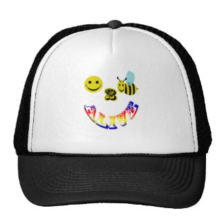 happy 2 bee alive trucker hat