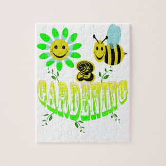 Happy 2 bee Gardening Puzzles