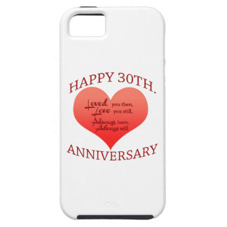 Happy 30th Anniversary iPhone 5 Case