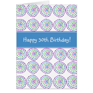 Happy 30th Birthday! Card