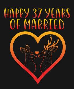 Happy 37th Anniversary Gifts On Zazzle Ca
