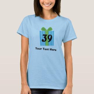 Happy 39th Birthday Present T-Shirt