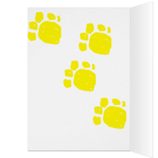 Happy 3rd birthday cartoon dinosaur in yellow boys card