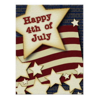 Happy 4th July Poster
