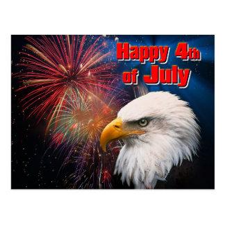Happy 4th of July 1 Postcard