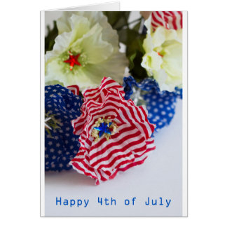 Happy 4th of July Celebration Card