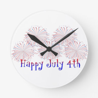 Happy 4th of July Clock