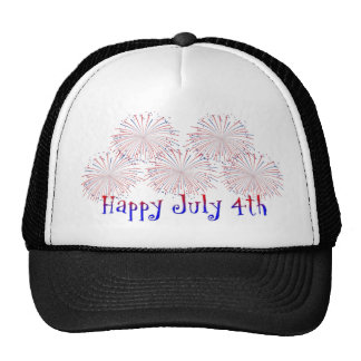 Happy 4th of July Hat