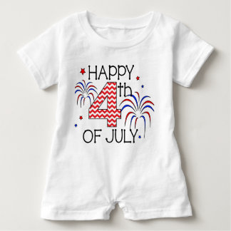 Happy 4th of July Infant Romper