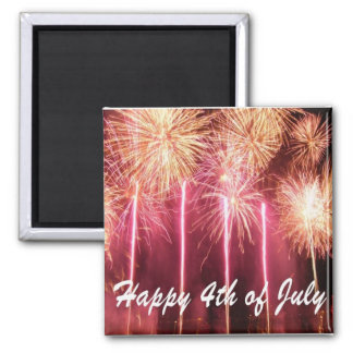 Happy 4th of July Magnet