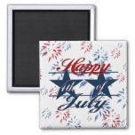 Happy 4th of July Magnets