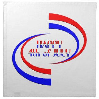 Happy 4th of July Napkin