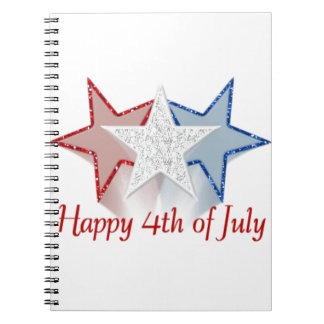 Happy 4th of July Notebooks