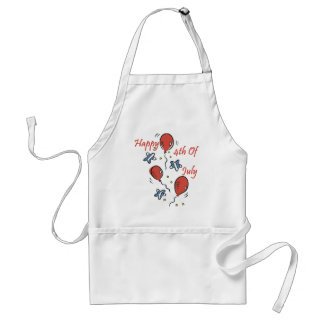 Happy 4th of July Standard Apron