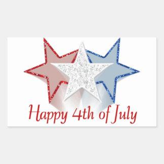 Happy 4th of July Sticker