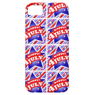 Happy 4th of July Theme Pattern Case For The iPhone 5