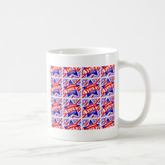 Happy 4th of July Theme Pattern Coffee Mug