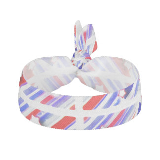 Happy 4th of July Theme Pattern Hair Tie