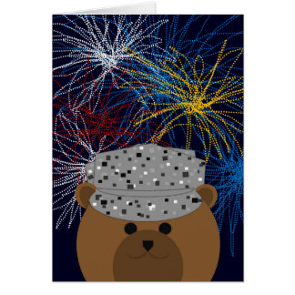 Happy 4th of July to Air Force Firecracker Card