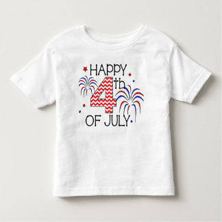 Happy 4th Of July Toddler T-Shirt