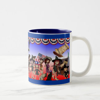 Happy 4th of July! Two-Tone Coffee Mug