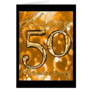 Happy 50th Anniversary Greeting Card