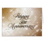 Happy 50th Anniversary (wedding anniversary) Card