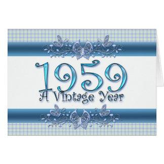 Happy 50th Birthday 1959 A Vintage Year Card
