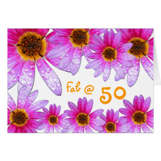 Happy 50th birthday! card