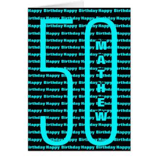 Happy 50th Birthday Card
