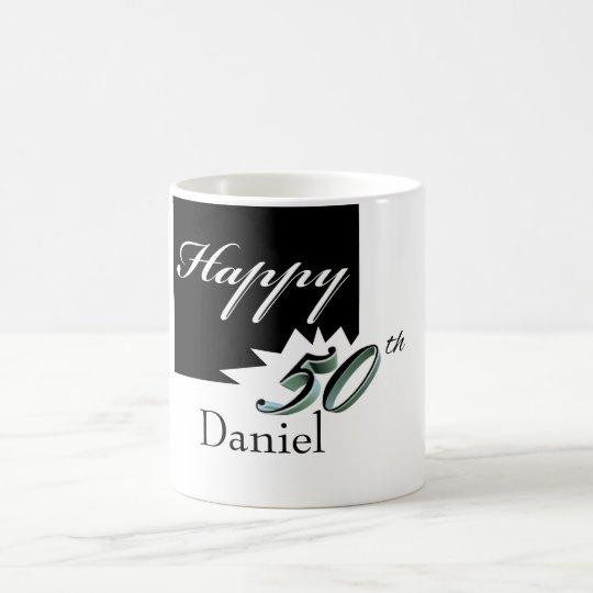 Happy 50th Birthday mug