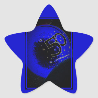 Happy 50th Birthday Sticker