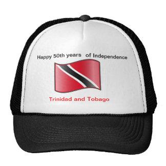 Happy 50th years Trinidad and Tobago Cap Trucker Hat